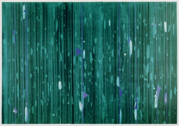 <p>[untittled2] 1991年 ファブリアーノ紙にリトグラフ、スクリーン 1000×700 (mm)</p>